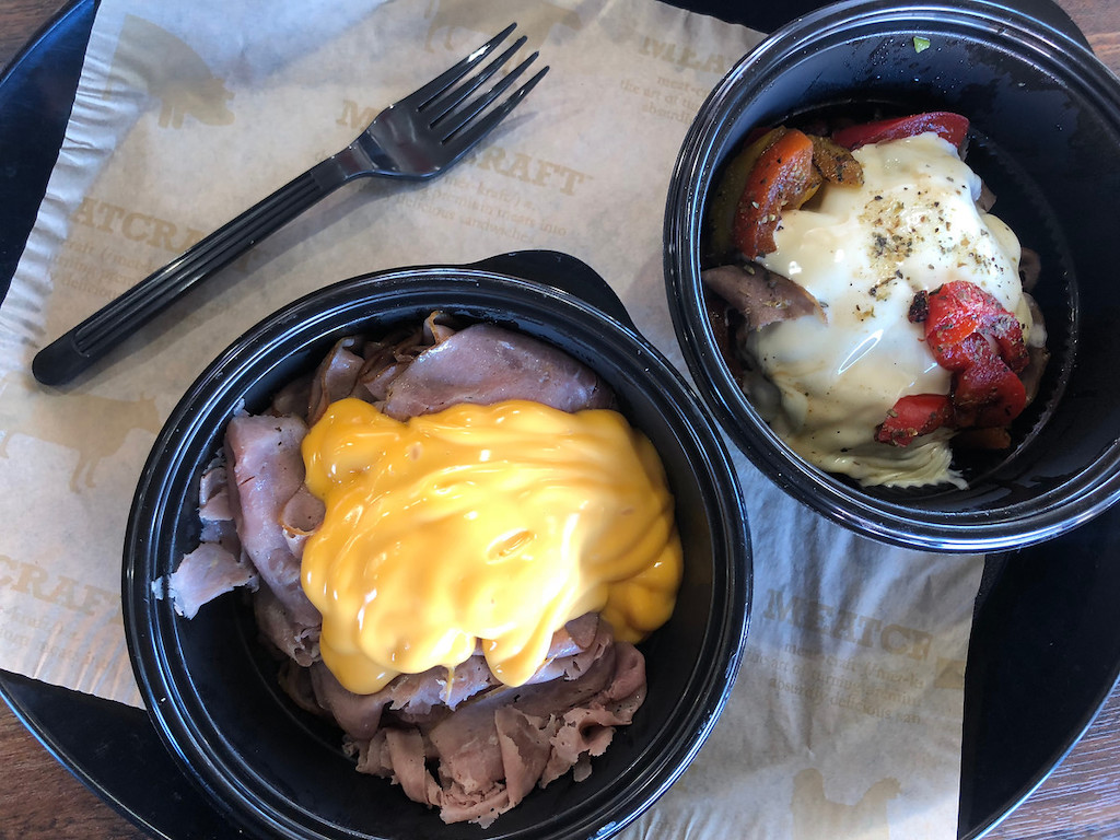 Arby's keto lunch and dinner options