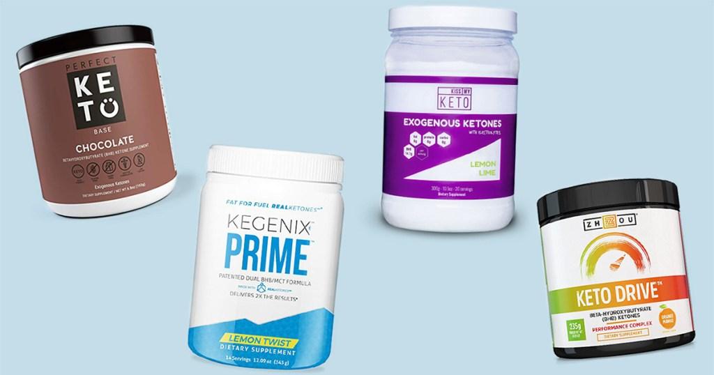 different brands of exogenous ketones