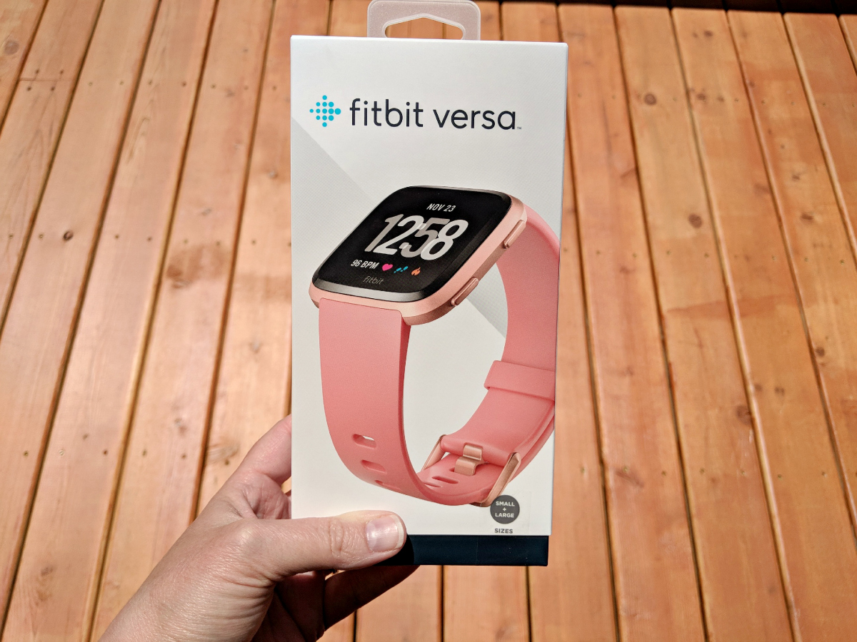 fitbit versa can track all of your easy exercises