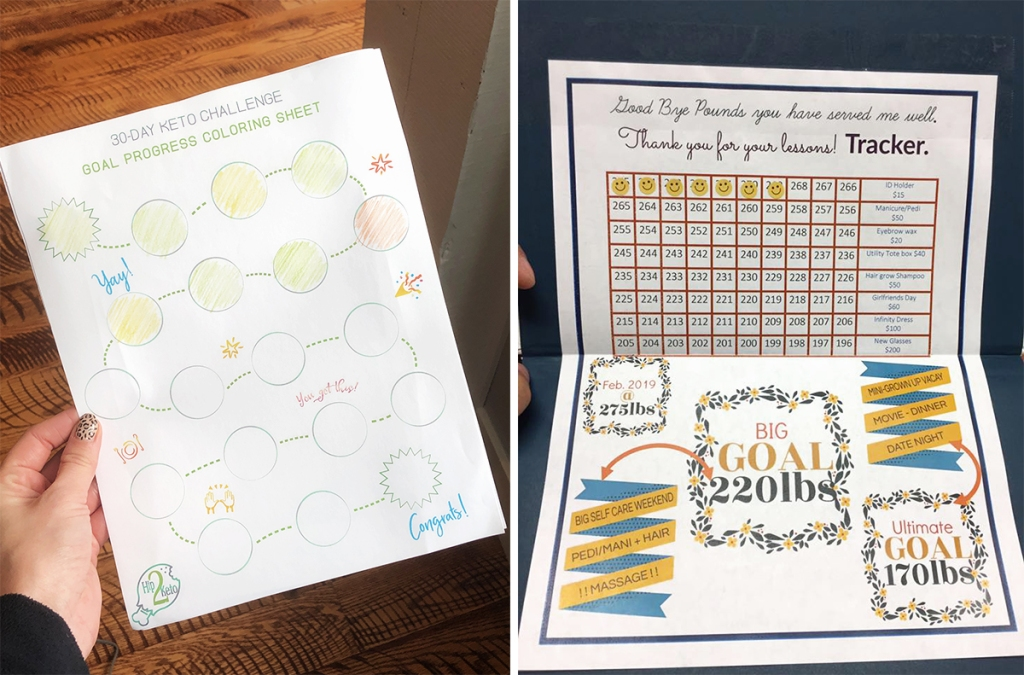 goal tracking printables and ideas
