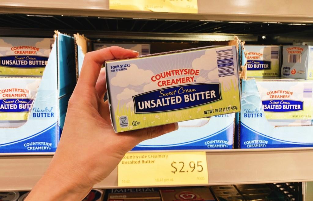 keto butter at ALDI