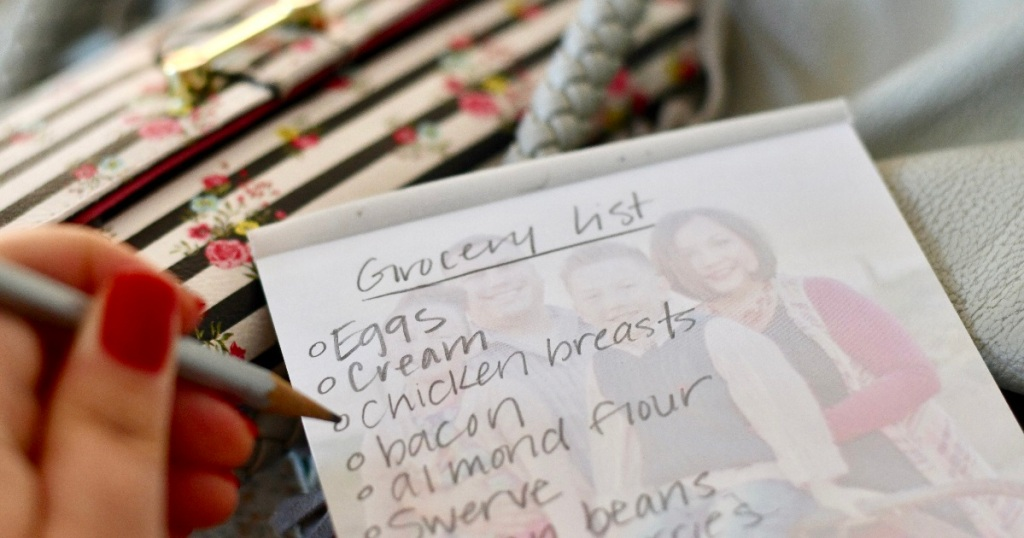 keto shopping list