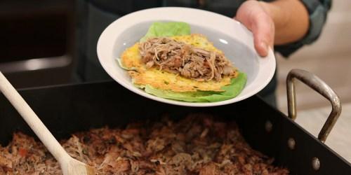 Slow Cooker Keto Mexican Pork Carnitas (Comida Fiesta!)