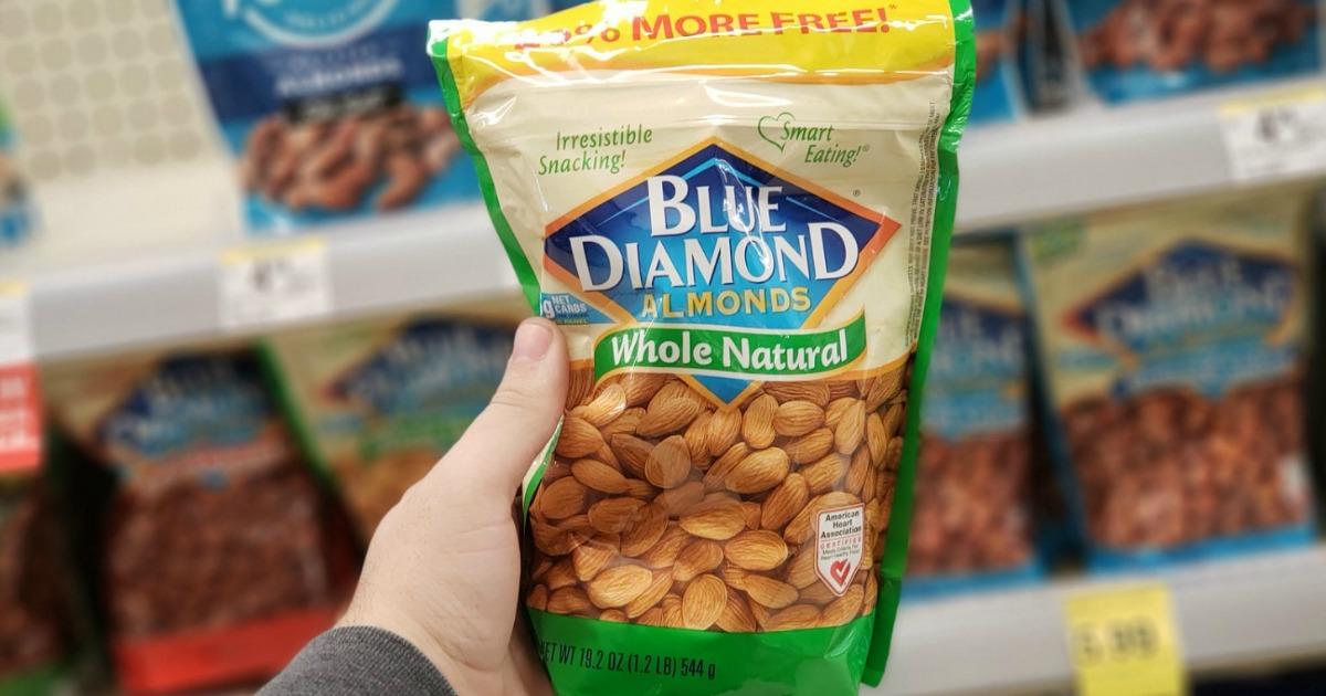 Blue Diamond almonds 1 pound bag