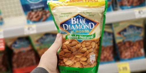 Score 50% Off BIG Bags of Blue Diamond Almonds at Walgreens