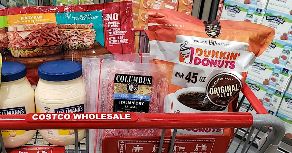 Costco Keto groceries in Cart
