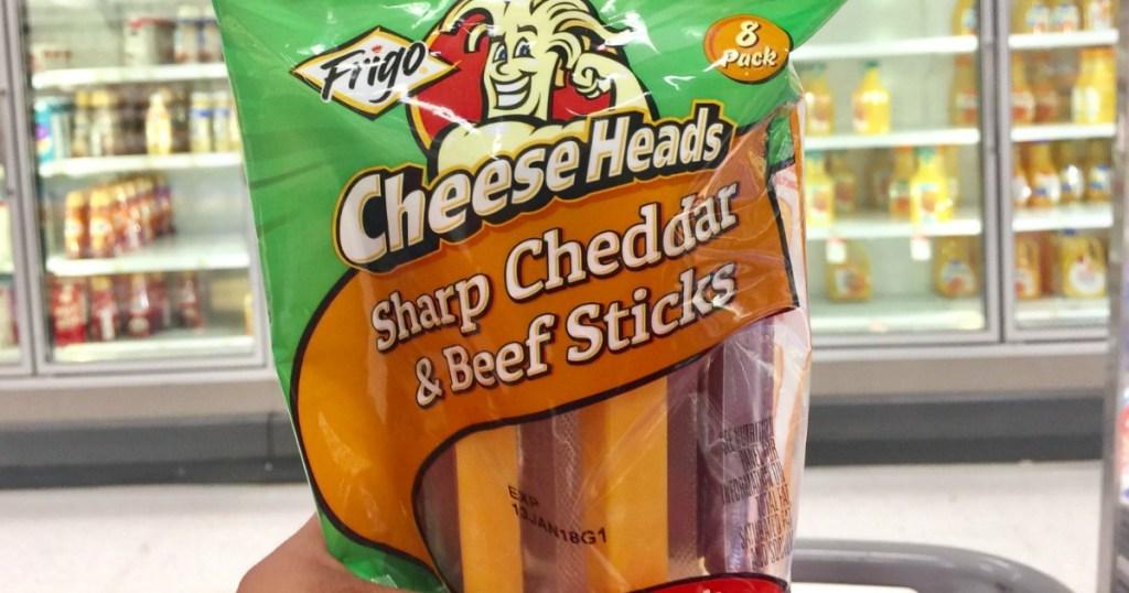 Frigo Cheese Heads sticks at Target