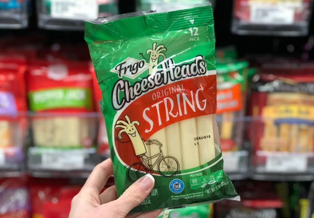 Frigo string cheese at Target