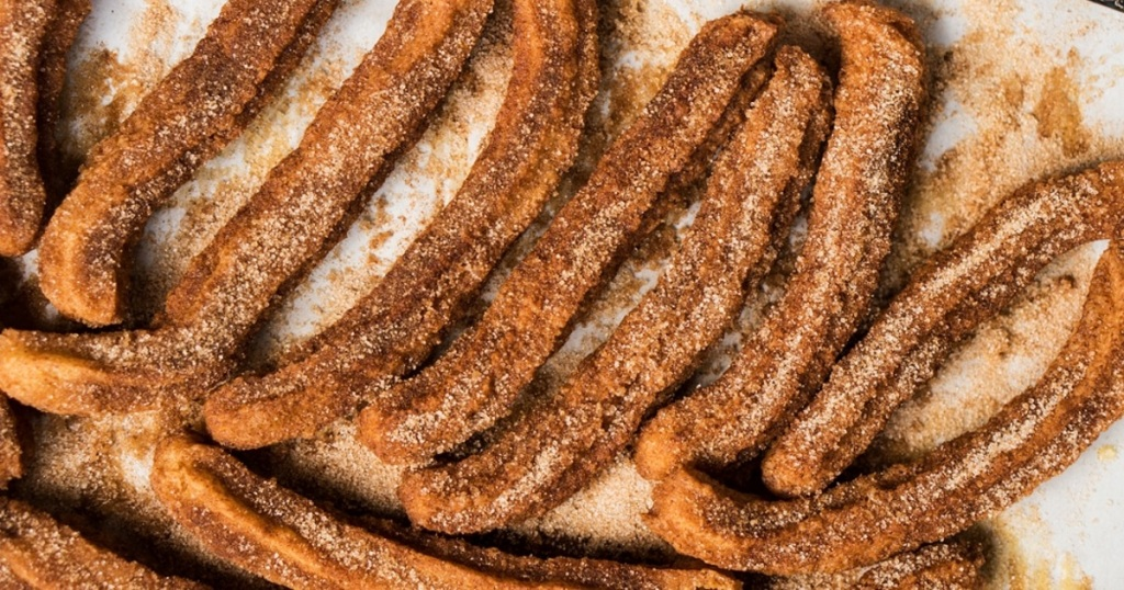 gluten-free and sugar-free churros from gnom gnom