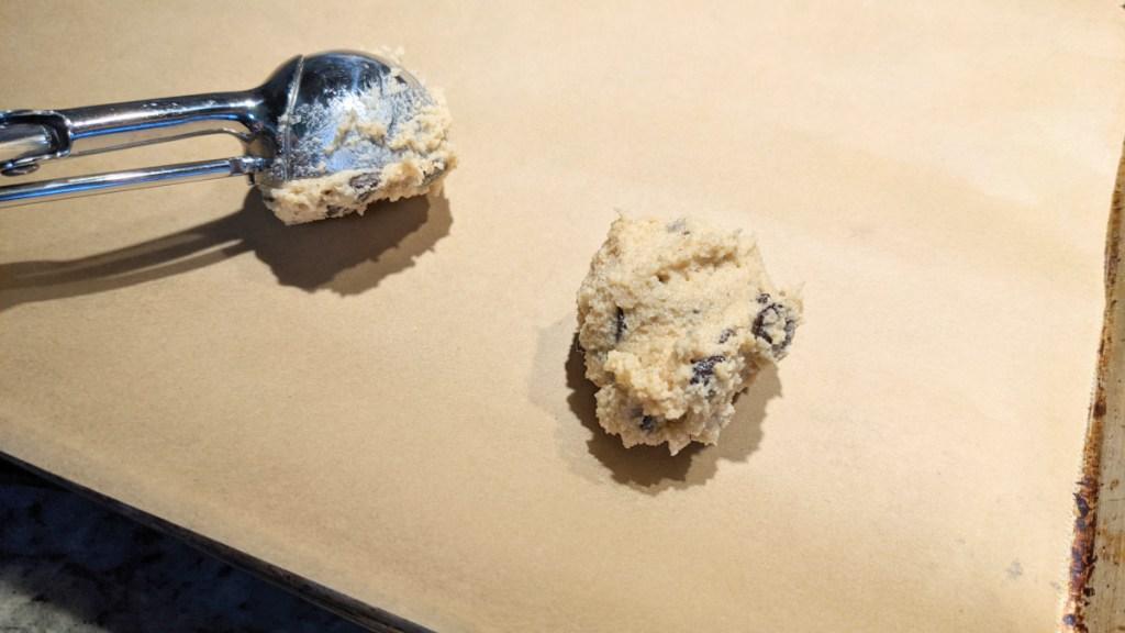 keto chocolate chip cookie dough