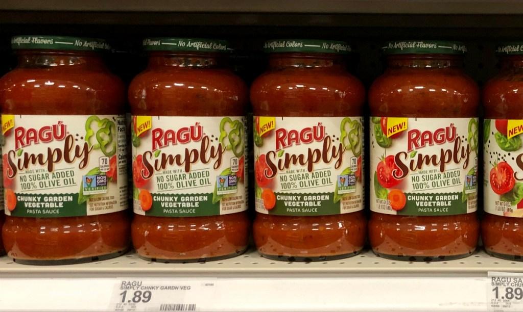 Ragu Simply at Target