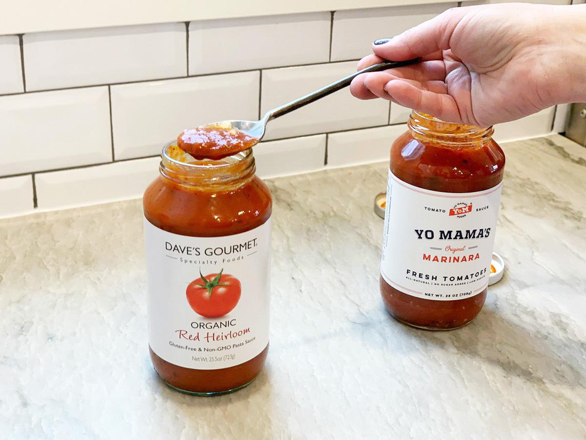 dave's gourmet marinara sauce