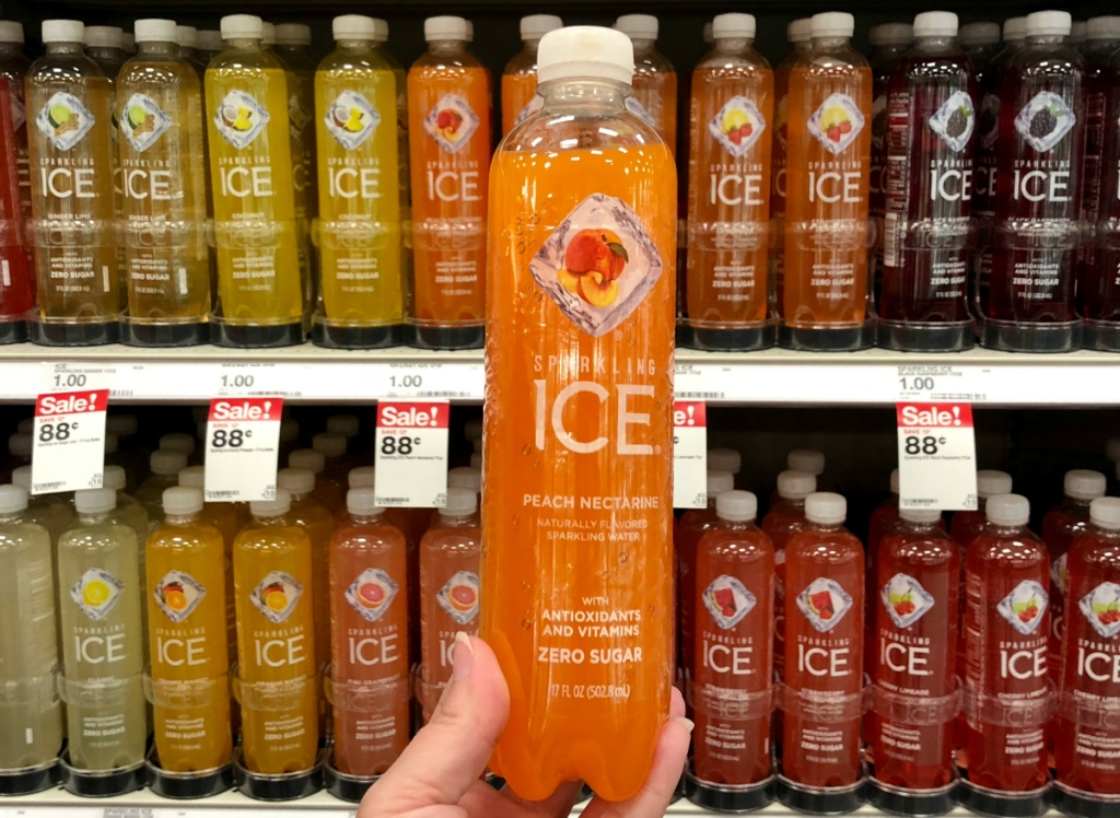Sparkling ICE drinks Target