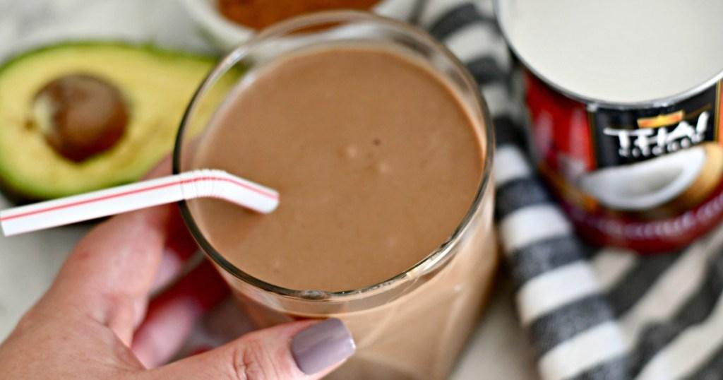 Keto Bulletproof Chocolate Milkshake