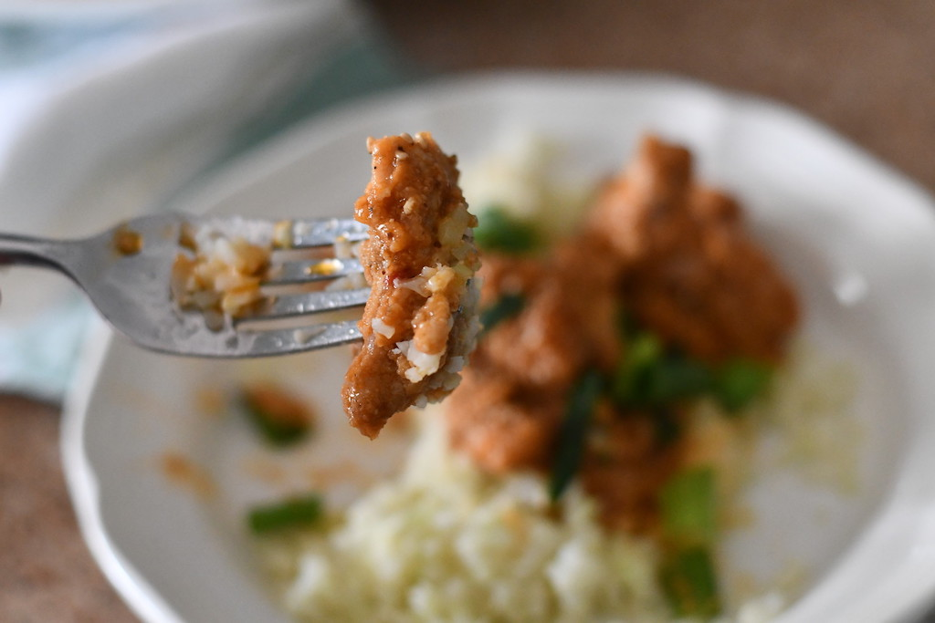 Taking Bite of Keto Instant Pot General Tso's Chicken