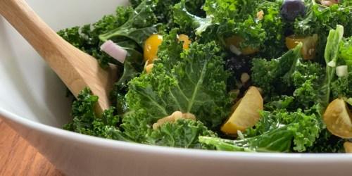 Massaged Kale Superfood Salad | Keto, Paleo, & Vegan