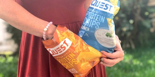These Low-Carb Quest Protein Chips Taste Like Doritos