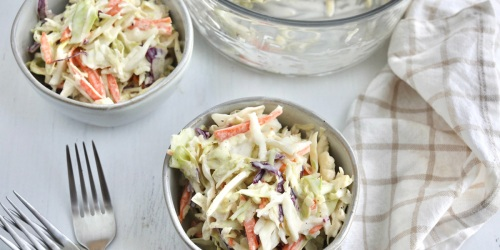 Our Creamy Keto Coleslaw Recipe is the Perfect Summer Side Dish