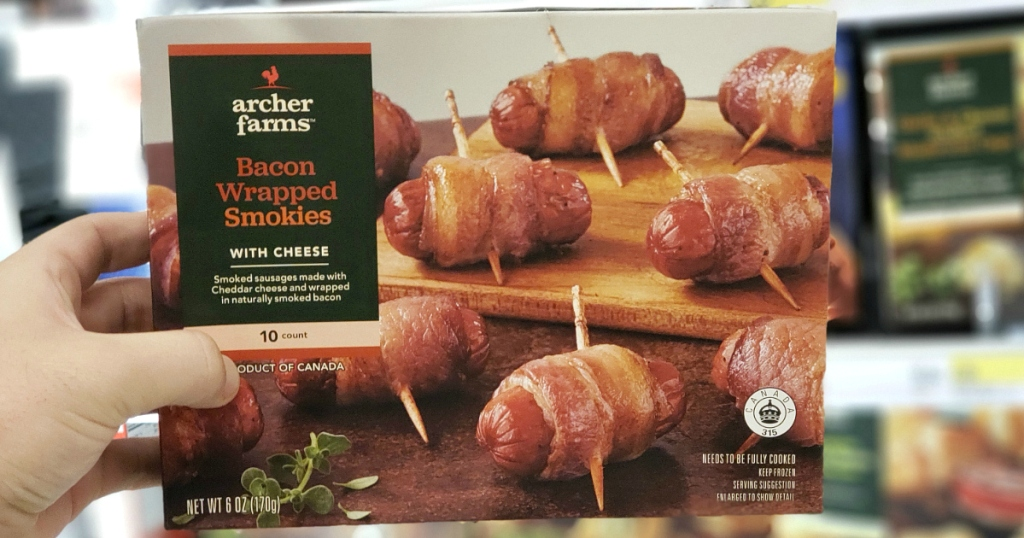 Archer Farms Bacon Wrapped Smokies with Cheese at Target