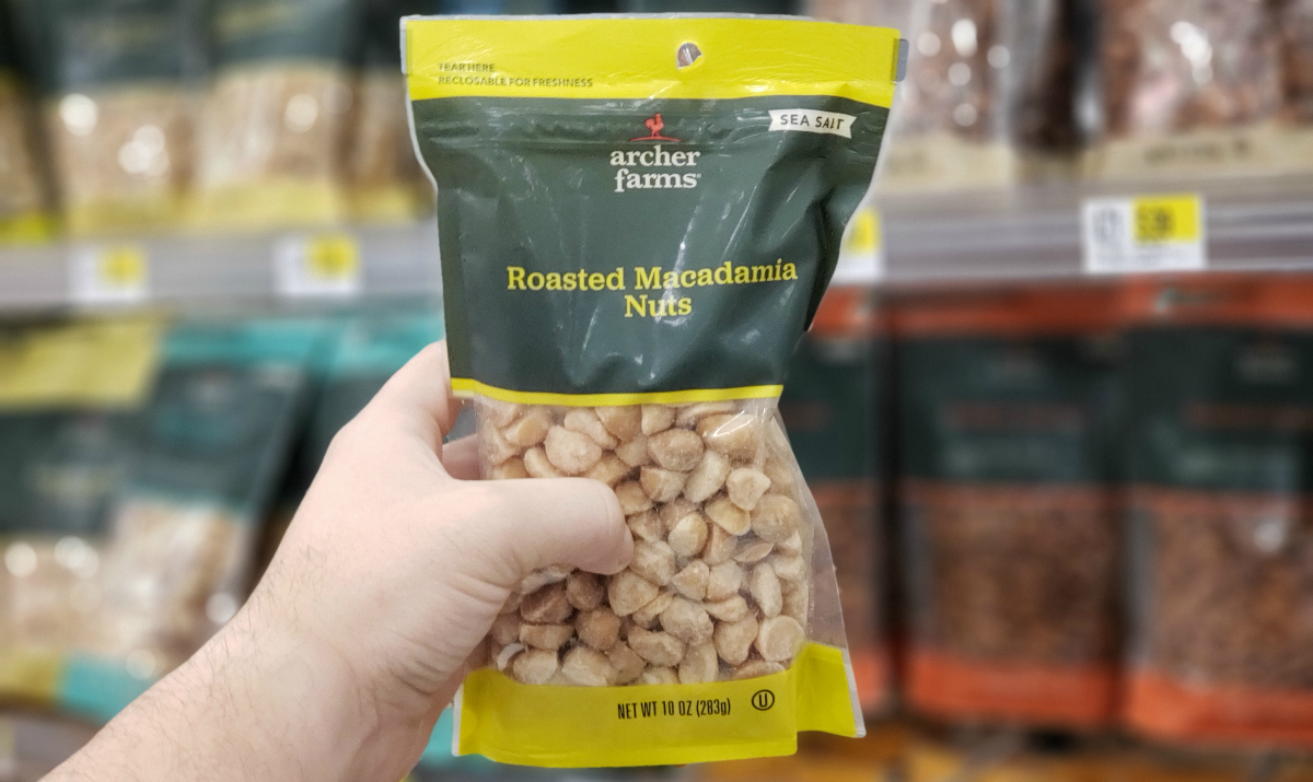 Archer Farms Roasted Macadamia Nuts at Target