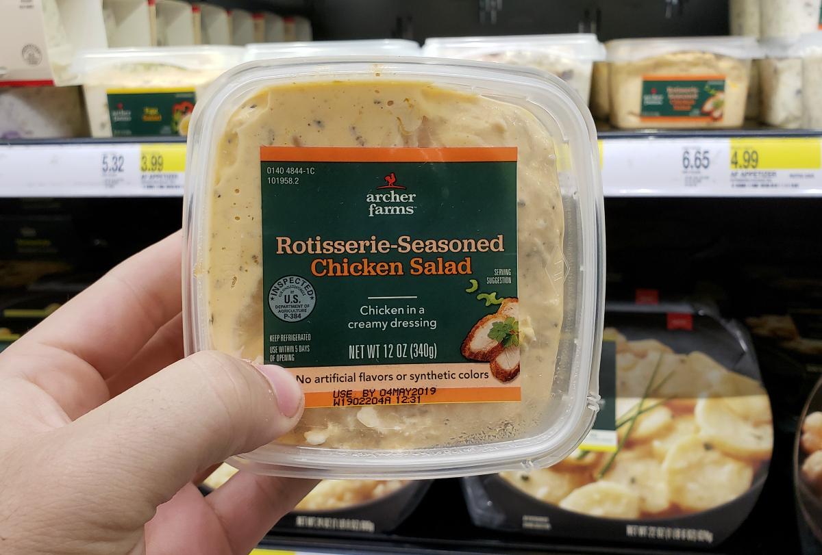 Archer Farms Rotisserie Chicken Salad at Target