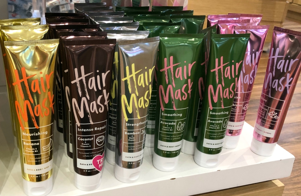 Avocado Hair Mask at Bath & Body Works