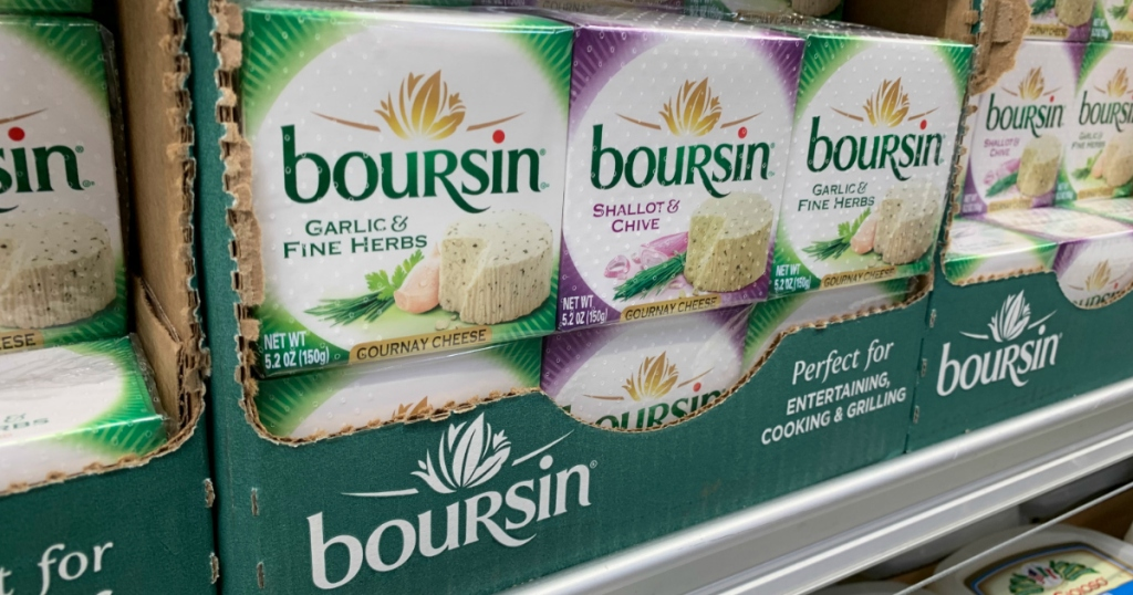 Boursin cheese at Costco