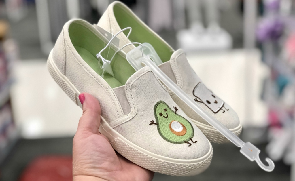 Cat & Jack Avocado Shoes