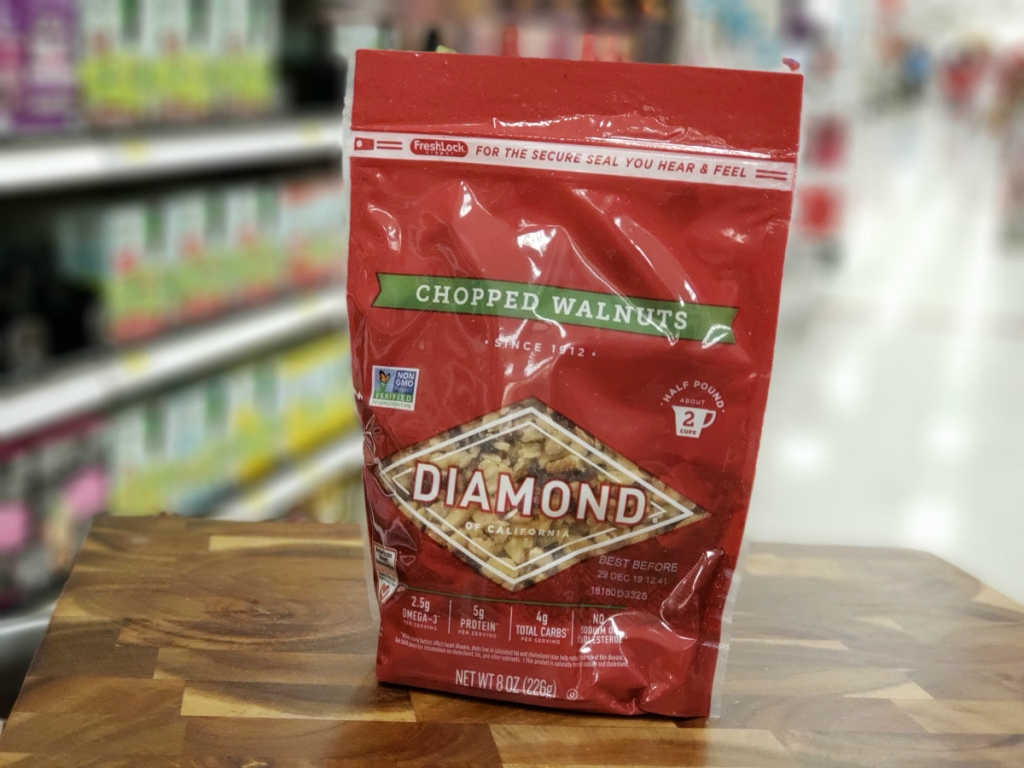 Diamond Chopped Walnuts at Target