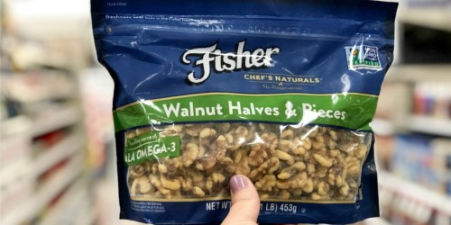 Hurry and Print This High Value $2 Off Fisher Baking Nuts Coupon NOW ( It Won't Last Long!)