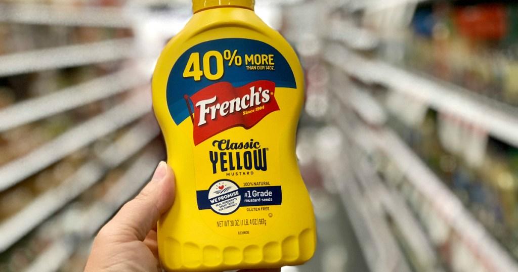 French's yellow mustard