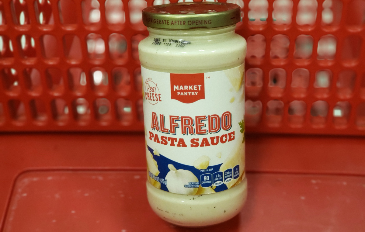 Market Pantry Alfredo sauce at Target