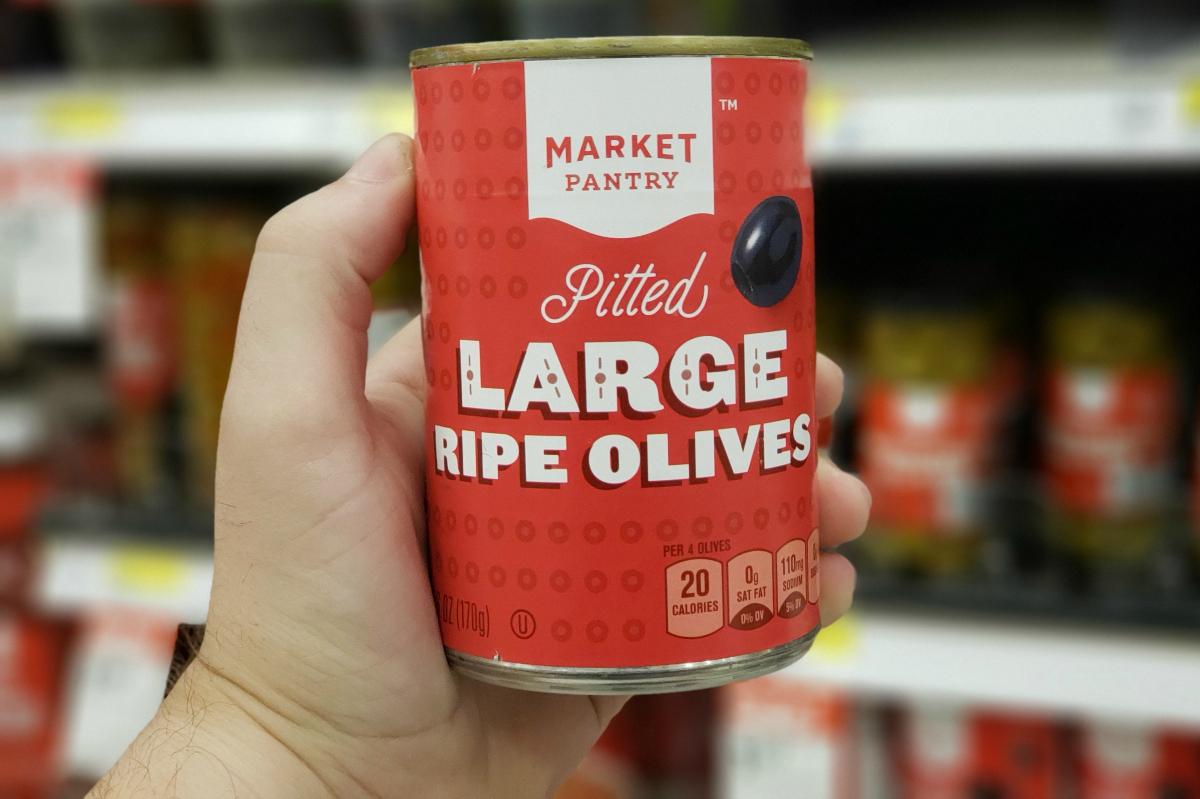Market Pantry Black Olives at Target
