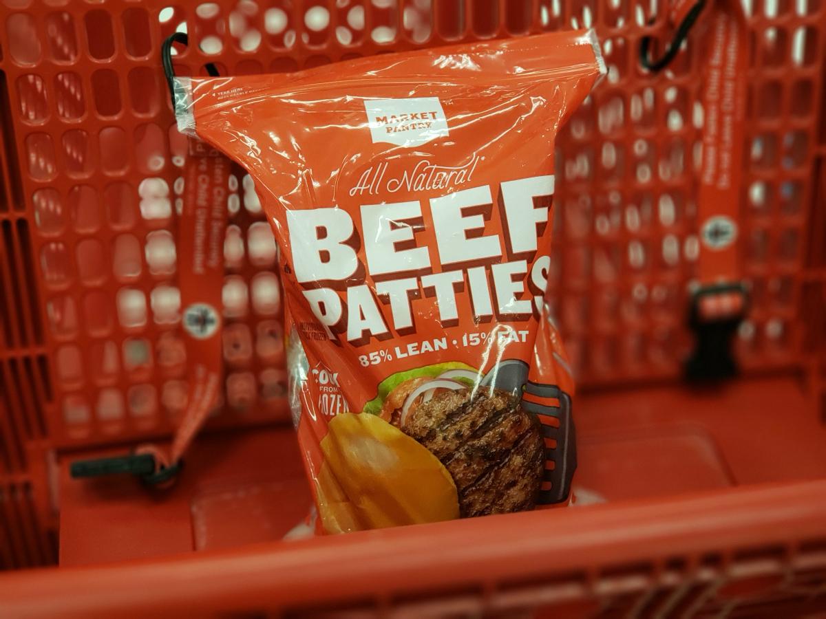 Market Pantry Beef Patties at Target