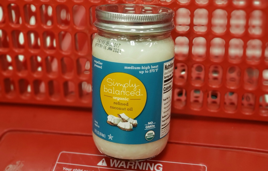 Simply Balanced Coconut Oil at Target