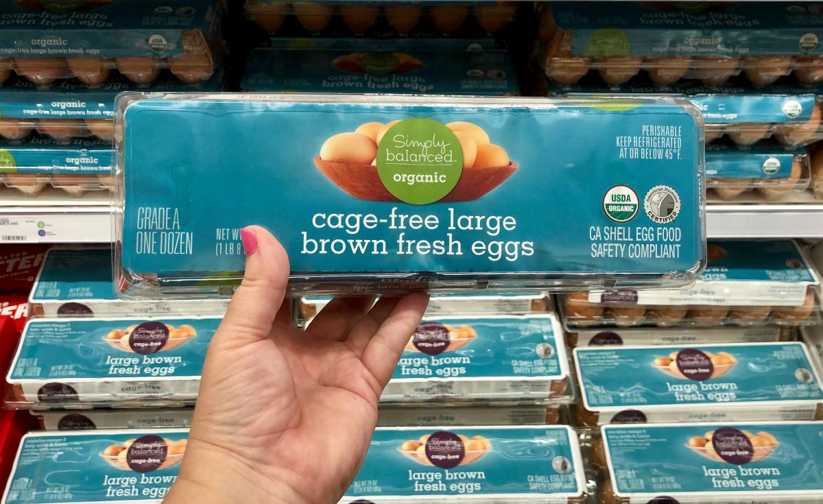 Simply Balanced Cage-Free Large Brown Fresh Eggs 1 dozen at Target