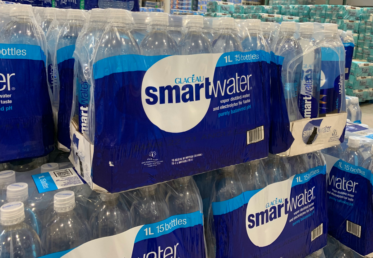 Smartwater at Costco