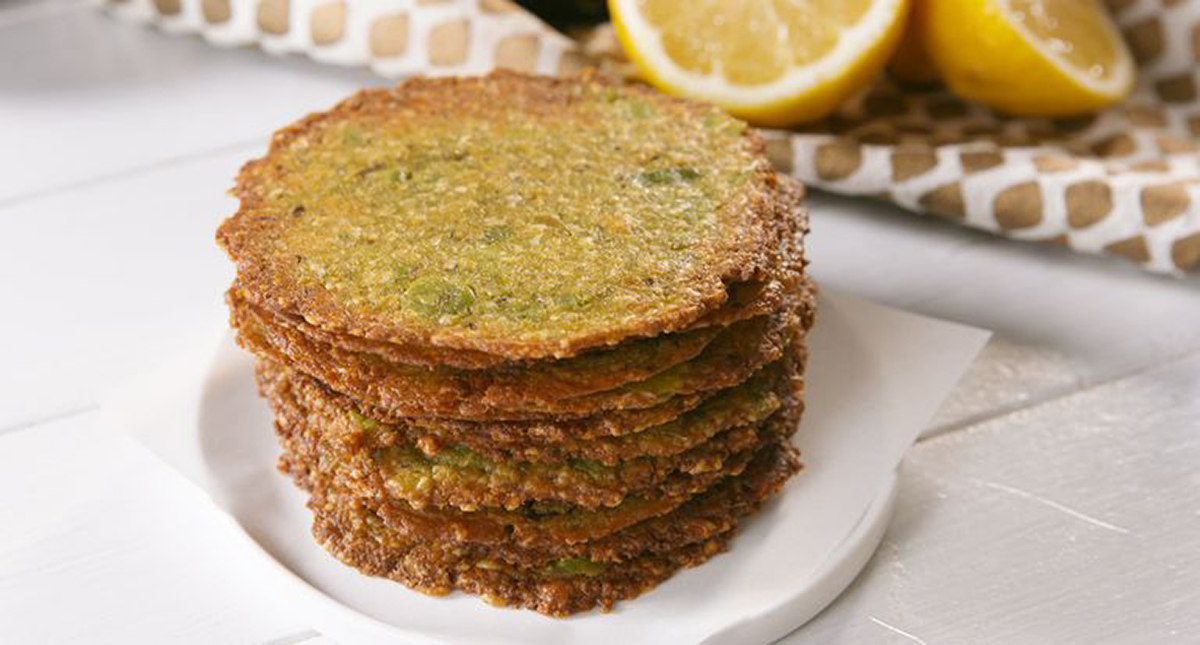 best keto chips recipes — avocado chips from delish.com