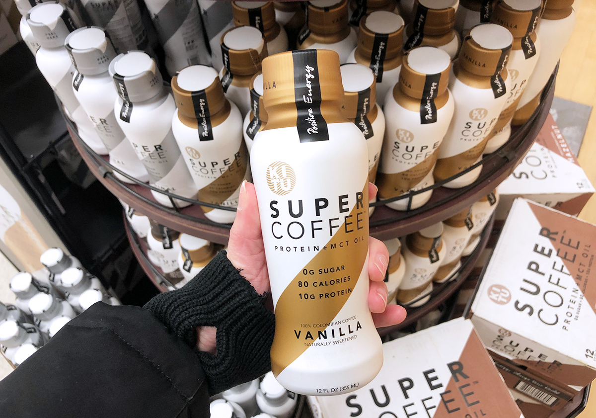 kitu super coffee — holding up kitu vanilla super coffee