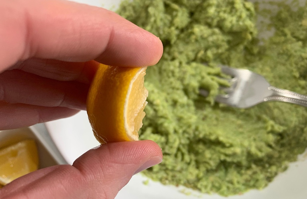 lemon with avocado