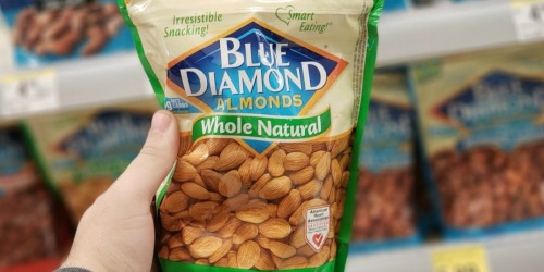 Keto Snack Deal: BIG Bags of Blue Diamond Almonds Only $5.99 at Walgreens