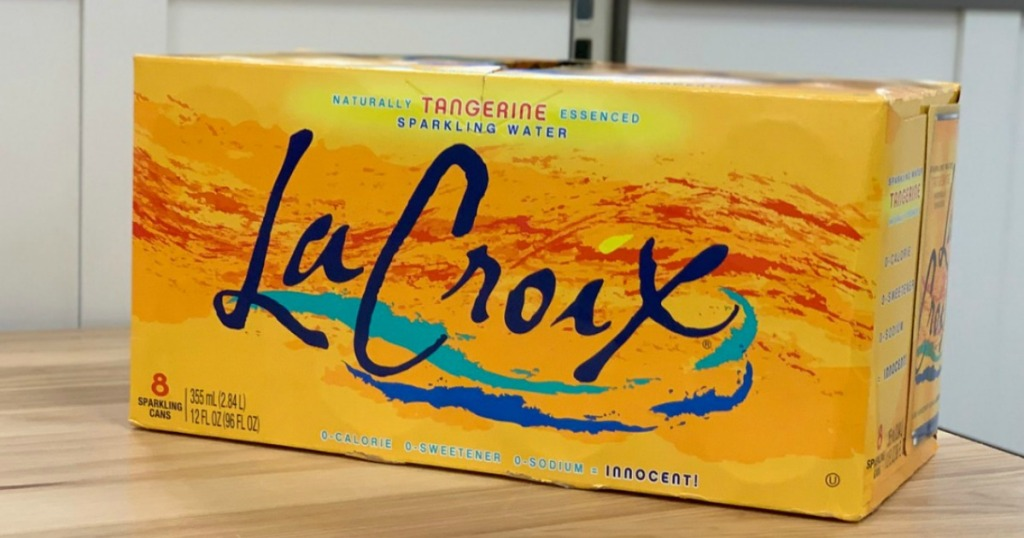 LaCroix Tangerine Sparkling Water