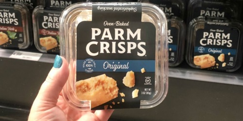 Craving a Crunchy Keto Snack?! Save on Oven-Baked Parm Crisps at Target