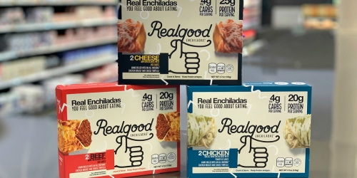 Kroger & Affiliate Shoppers Can Score a Real Good Keto Deal on Realgood Foods