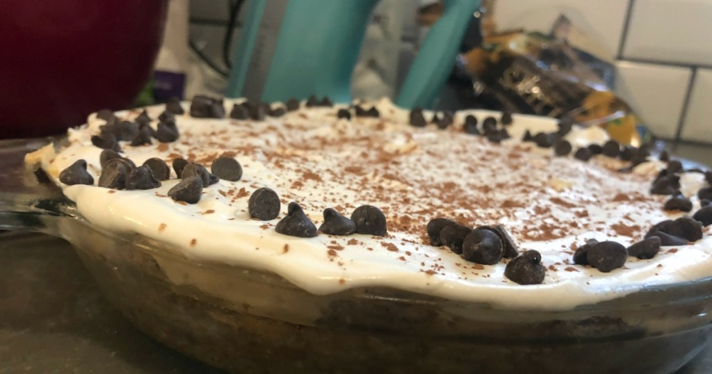 Keto peanut butter cream cheese pie