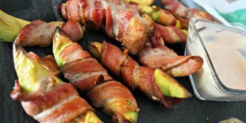 Crispy Bacon-Wrapped Avocados | Keto Fries We All WANT