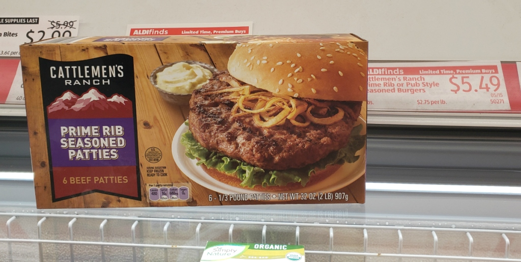 cattlemen's ranch patties ALDI