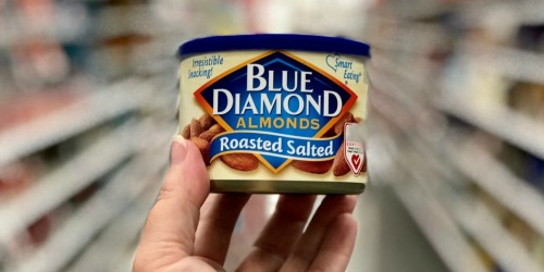 Over 50% Off Blue Diamond Almonds at Walgreens – ONLY $2.06 Per Can!
