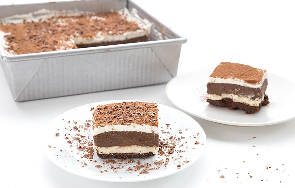 popular keto desserts — sex in a pan keto cake