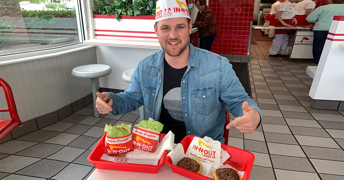 stetson at in-n-out burger